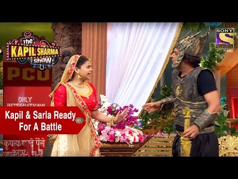 Kapil & Sarla Ready For A Battle – The Kapil Sharma Show