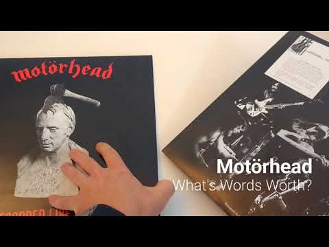 Motorhead Whats Words Worth (Unwrapped)