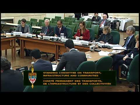 Comité permanent des transports, de l'infrastructure et des collectivités - 9 novembre 2017