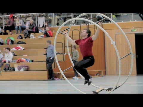 Johannes Keller   Rhönrad WM Quali 2016 Spirale