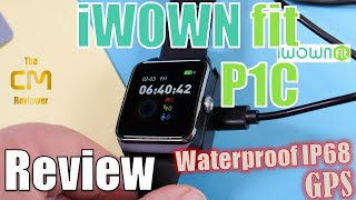 IWOWNFIT P1C Test: Smartwatch IP68 GPS 1.3'' IPS color touch...