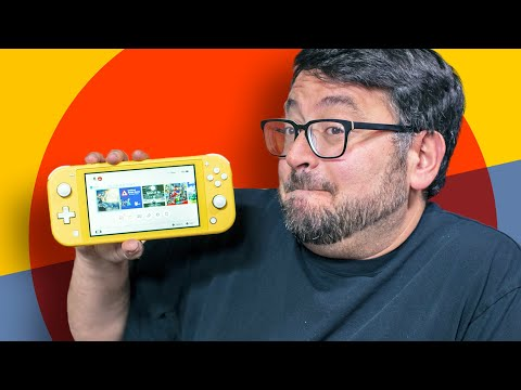I've used the Nintendo Switch Lite for a month... and I reco
