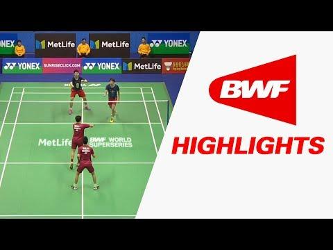 Yonex-Sunrise Hong Kong Open 2017 | Badminton SF – Highlights