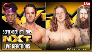 Wwe Nxt September 18th 2019 Live Stream Live Reaction Conman167