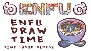 Enfu Draw Time: Breakfast Cereal