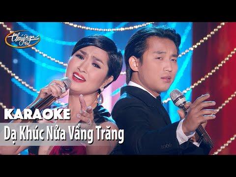 Karaoke | Dạ Khúc Nửa Vầng Trăng (Đan Nguyên & Nguyễn Hồng Nhung)