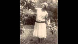 """Mistinguett """" tout ça c'est pour vous """"  1928"""