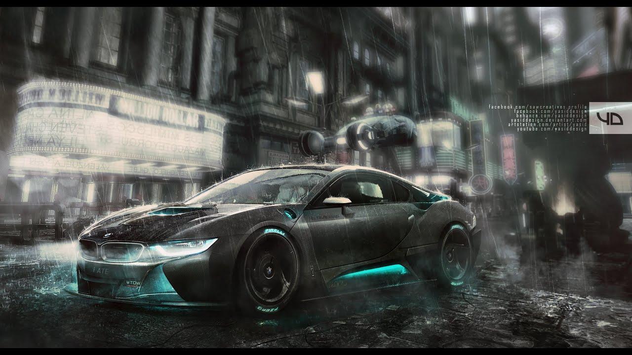 Blade Runner Bmw I8 Yasiddesign Youtube