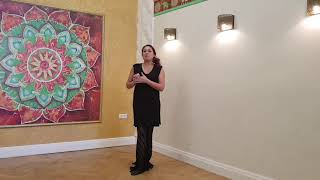 Видеоуроки по базе танца живота от Лейлы Адоры. Урок 2.