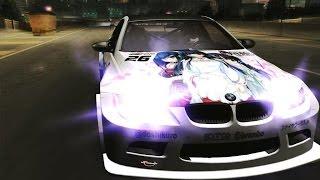 【NFSU2】BMW M3 GTS『どうして、そんなに黒い髪が好きなの?』NEKOGTR Edition