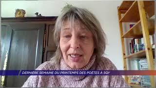 Yvelines   Dernière semaine du printemps des poètes à SQY