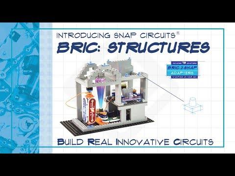 6ae5e8b78 Snap Circuits Bric: Structures- Elenco Electronics