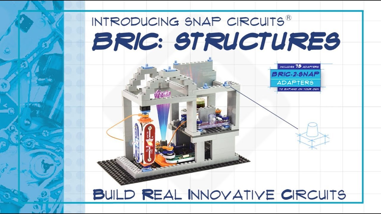 snap circuits bric structures is here youtube rh youtube com
