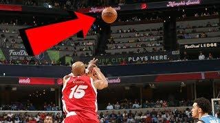 NBA High Arcing Half Court Shots