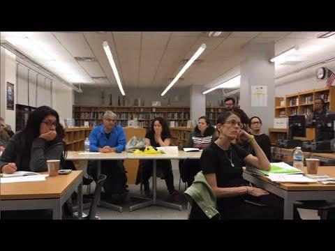 Art & Design High School PTA Meeting December 2017