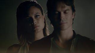 The Vampire Diaries: 8x02 - Sybil erases Elena in Damon