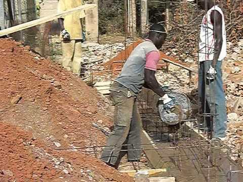 Le fondamenta della casa ospiti canchungo guinea bissau youtube - Fondamenta casa ...