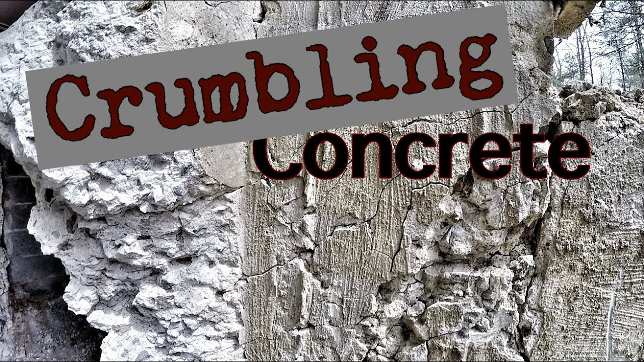 Crumbling Concrete Foundations In Connecticut Youtube