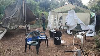 L'EMD desmantella tres assentaments il·legals