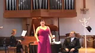 """""""Non mi dir"""" Mozart, Don Giovanni, Soprano: Shoshana Feinstein"""