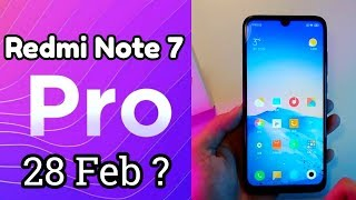 Redmi Note 7 Pro- First Look | Confirmed Price & launch Date, Final Specs! (Samsung M30 Killer)