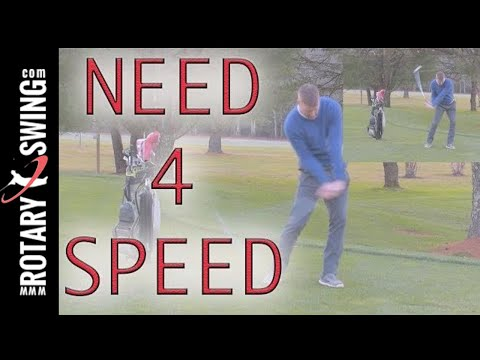 GOLF SWING SPEED TRAINING!