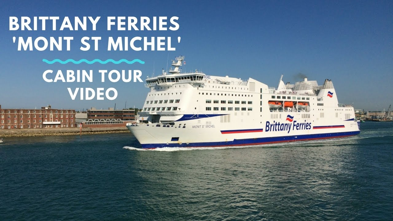 cabin tour of caen portsmouth 39 mont st michel 39 cruise ferry with brittany ferries youtube. Black Bedroom Furniture Sets. Home Design Ideas
