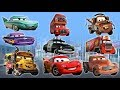 Disney CARS All Names and Characters Funny Animation Nursery Rhymes for Kid || ChildrenSongs Guera