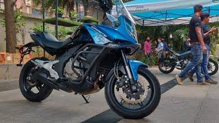 CF Moto 650 MT - Kawasaki Versys 650 competition | Hindi | MotorOctane