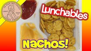 Lunchables Nachos Kraft Cheese Dip & Salsa Kids Lunch Room Snack Food