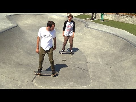 LANCE LIVE SKATE SUPPORT GETTING USED TO TRANSITION