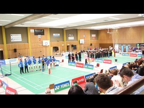 U19-Badminton Länderspiel in Frankenthal (TSV Eppstein)