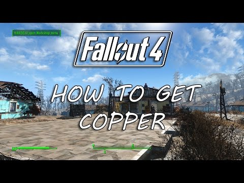 FALLOUT 4: How to get Copper! - Building the Sanctuary Fallout 4 Gameplay Guide