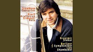 Concerto for Trombone & Orchestra: III. Rondo. Allegretto scherzando