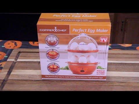 Perfect Egg Maker Review - Copper Chef