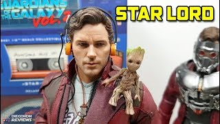 Hot Toys STAR LORD Guardians of the Galaxy VOL2 Review BR / DiegoHDM