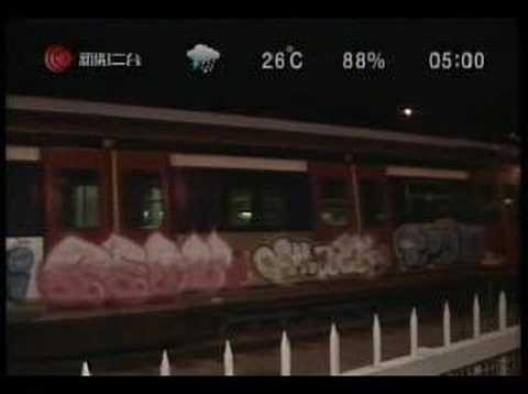 hongkong grafiti 香港塗鴉 Cable News Channel 2 (Hong Kong) 新聞二台