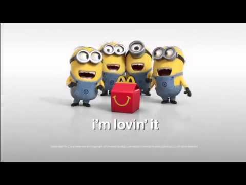 Minions McDonald's Ad /  I'm Lovin' It   Despicable Me 2