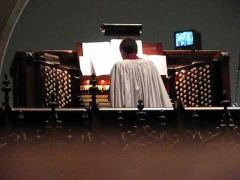 Easter 2011 - Fanfare and Easter Hymn - Cathedral of St. John The Divine, NYC