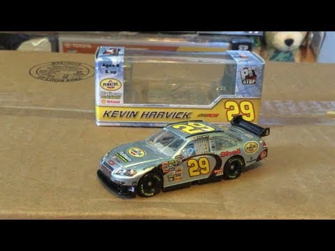 (RARE) Kevin Harvick 2007 pennzoil platinum NASCAR diecast review