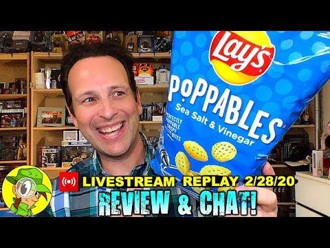 Poppables® | SEA SALT \u0026 VINEGAR Review 🌊🧂| Livestream Replay 2.28.20 | Peep THIS Out!