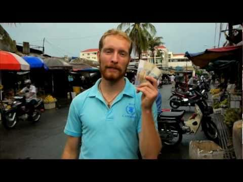 Shopping With A Dollar In Cambodia