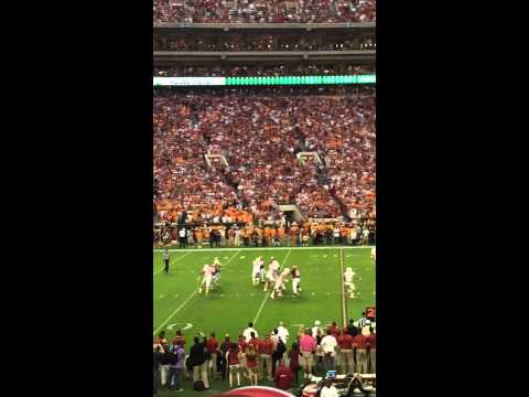 Alabama Game winning fumble against Tennesee