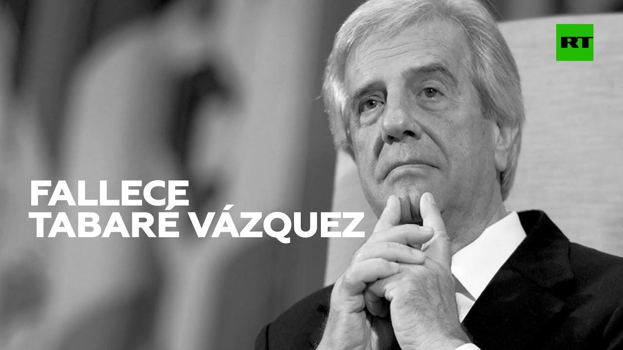 Fallece el expresidente de Uruguay, Tabaré Vázquez