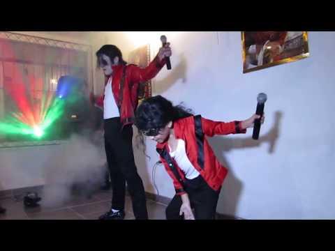 Michael Jackson Peruano Jhon Palacios Y Fabian Paz: Thriller