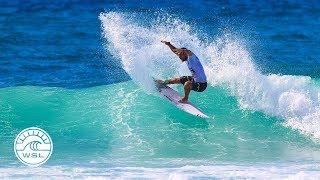 2017 Caraïbos Lacanau Pro Highlights: Waves Build, Action Gets Tense in Lacanau