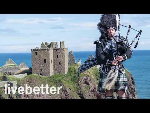 Instrumentalmusik fröhlich traditionelle schottische Dudelsack Celtic