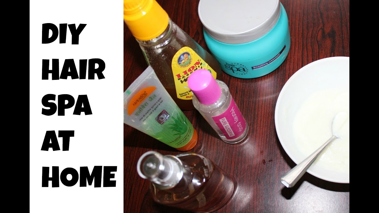 Diy Hair Spa At Home Hair Spa For Extremely Damaged Dry Hair Youtube