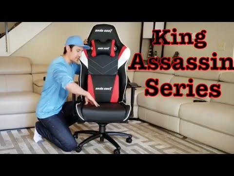 The Assassin King Series Gaming Chair! Max Capacity is 400 Pounds!!