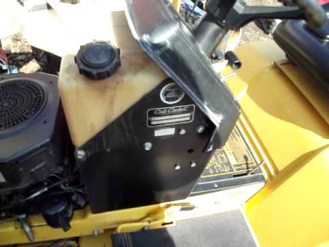 hqdefault cub cadet 1330 lawn tractor kohler command youtube cub cadet 1330 wiring diagram at gsmportal.co